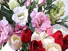 Lisianthuses & Tulips